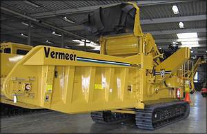 Горизонтальная дробилка Vermeer HG6000 на гусеницах