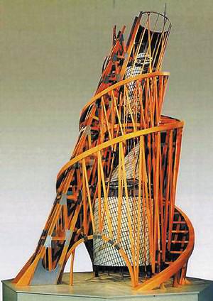 Модель памятника III Интернационалу