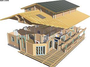 «АТ Венцы» дом из бруса