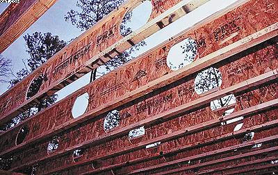 Рис. 2. Двутавровая балка, используемая для широкопролетных зданий