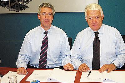Подписание договора о сотрудничестве между Biele и Koimpex S.r.l., 02.10.2008, г. Азпейтиа – Гипузкоа (Испания)