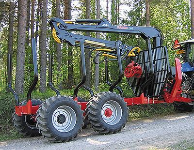 Форвардер-прицеп (трелевочная телега) Farmi Forest Profdrive 12 2WD