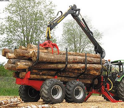 Форвардер-прицеп (трелевочная телега) Farmi Forest Profdrive 12 4WD