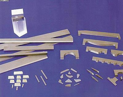 Рис. 6. Заготовки для изготов-ления напайных лезвий фрез