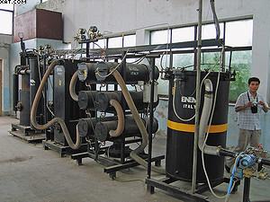 Рис. 5. Газогенераторная установка ENEA силовой мощностью 80 кВт (производство – Италия)