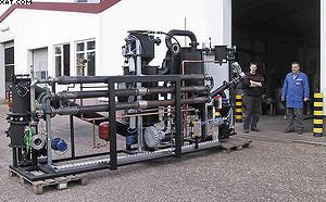Рис. 6. Газогенераторная установка силовой мощностью 100 кВт (производство – немецкая фирма Spanner RE GmbH)