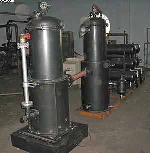 Рис. 8. Газогенераторная установка мощностью 50 кВт, работающая на древесных и сельскохозяйственных растительных отходах влажностью до 40%