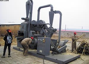 Рис. 14. Установка для пеллетирования сельскохозяйственных растительных отходов, изготовленная Ляонинским институтом энергетических ресурсов, производительностью 250 кг/час