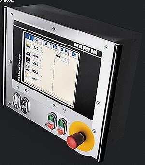 Станок T74 оборудован современной и интуитивно понятной системой управления TouchScreen