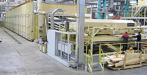 Рис. 5. Линия сушки шпона производства Grenzebach BSH GmbH