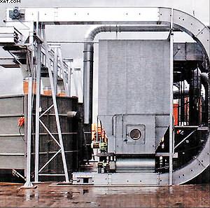 Рис. 3. Цепной скребковый конвейер закрытого типа