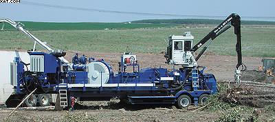 Сучкорезноокорочнодробильная машина Peterson DDC5000