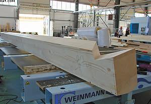 Линия Weinmann по производству каркасно-панельных домов