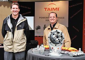 Стенд компании Taimi (Канада). Бесподшипниковые соединения для ротаторов