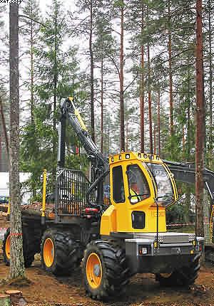 Форвардер Volvo El-Forest F15