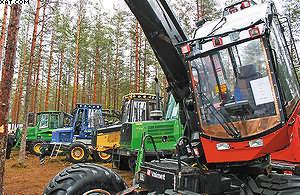 Б/у лесозаготовительная техника