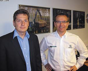 Валентин Кушнерев (слева) и Юкка Хуухтанен