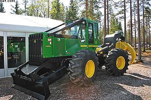 Скиддер 548H: если трелевка – то эффективная (новая H-серия трелевочных тракторов, теперь для небольших заготовок и по доступной цене)