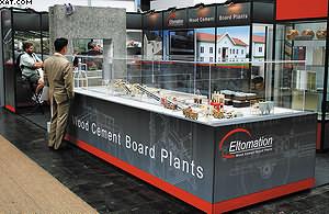 Eltomation. Заводы по производству фибролитовых плит