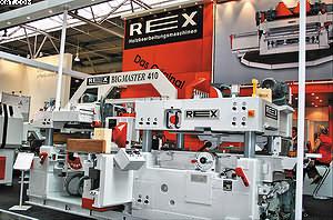 Строгальный станок Rex Bigmaster 410
