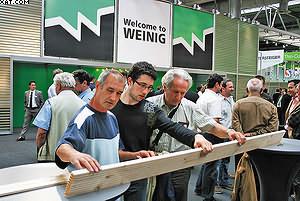 а стенде Weinig