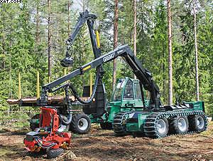 Лесозаготовительный комплекс Gremo Besten