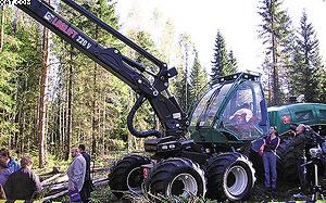 Лесозаготовительная машина «ЧЕТРА КХ451»
