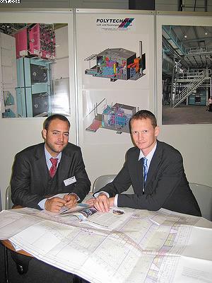 Андрей Поляков(справа) и Лукас Ширинхофер, компания «Политехник»