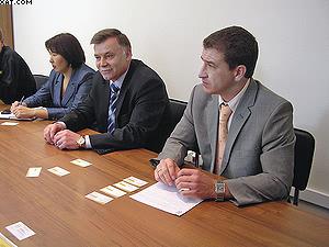 Представители администрации Иркутской области  на встрече с финской делегацией