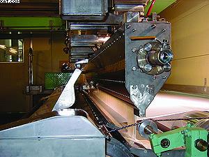 Рис. 4. Мелование бумаги на установке фирмы Voith Paper