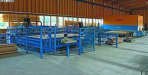 Гвоздезабивной автомат «ВандМастер-WM» и обрабатывающий центр модели PBA