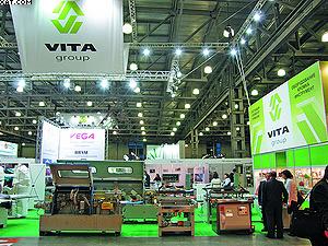 Деревообрабатывающее оборудование на стенде Vita Group