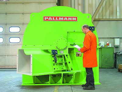 Измельчитель древесины (рубительная машина) Pallmann VHS 20V6