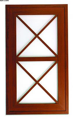 б – рамка со стеклом и наложенным на него ложным переплетом;