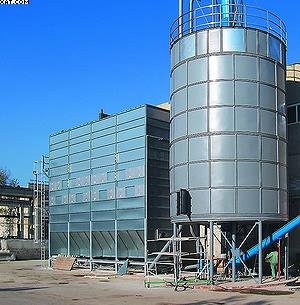 Аспирационная система Multistar для сбора отходов производства MDF