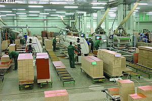 Производственный участок Мебельной компании «ЛЕРОМ»