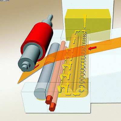 2а. Агрегат для нанесения клея-расплава