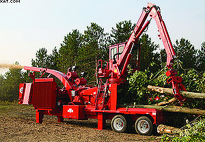 Измельчитель древесины (рубительная машина) Morbark 22RXL