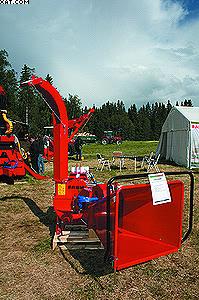 Измельчитель древесных отходов Farmi Forest CH180HF(рубительная машина)