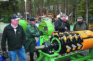 Рубительный ротор измельчителя древесины