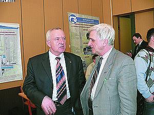 Анатолий Чубинский и Сергей Трофимов