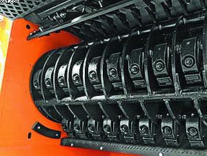 Ротор молоткового измельчителя древесины Doppstadt AK-серии