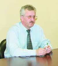 Генеральный директор ЛХК «Череповецлес» Валерий Писарев