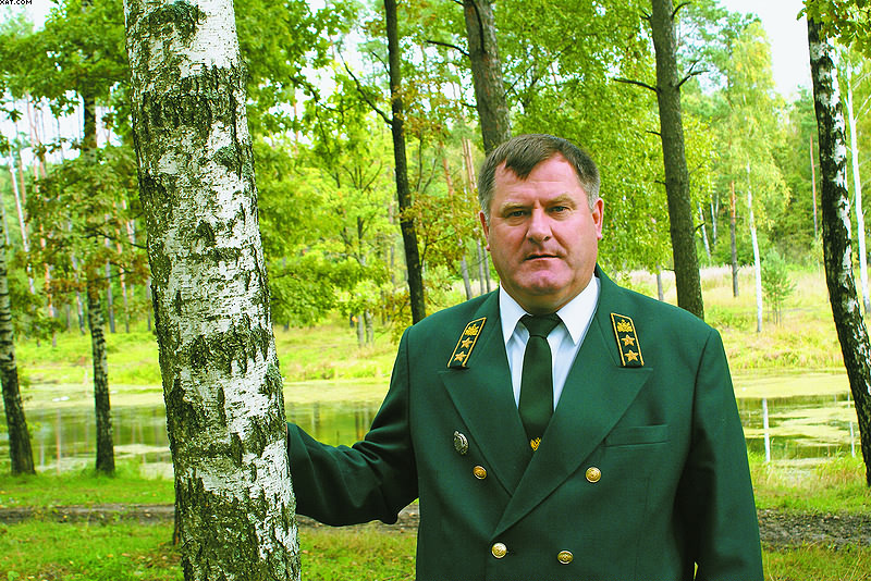 Начальник Управления лесами Брянской области Владимир Котенков