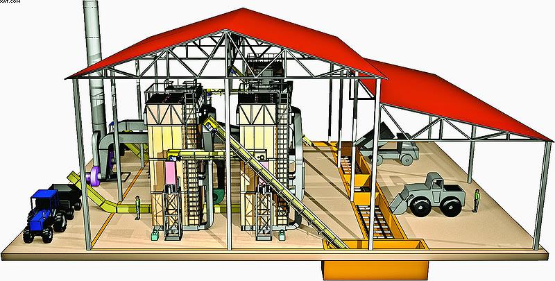 Пример водогрейной котельной на 18 МВт из трех котлов по 6 МВт