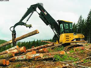 Универсальная лесозаготовительная машина Cat® 324D FM