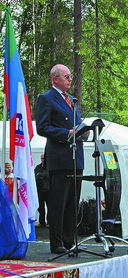 Приветственное слово главы компании Siempelkamp GmbH & Co. KG. Дитера Зимпелькампа