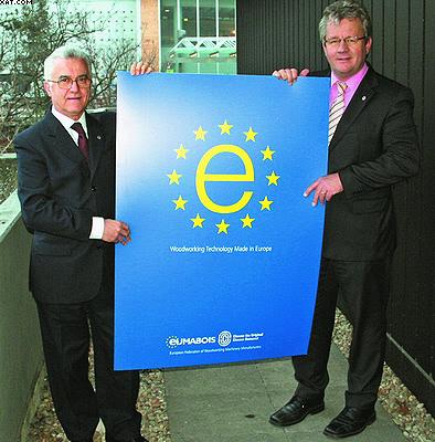 Франц-Йозеф Бютферинг и экс-президент EUMABOIS Джанни Гиццони