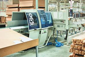 Автоматический универсальный торцовочный станок Dimter Opticut S90 (Weinig Groupe)