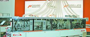 Кромкооблицовочный станок Casadei Flexa 307